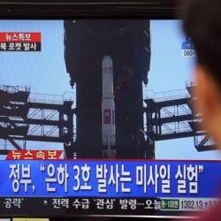 North Korea launches long-range rocket